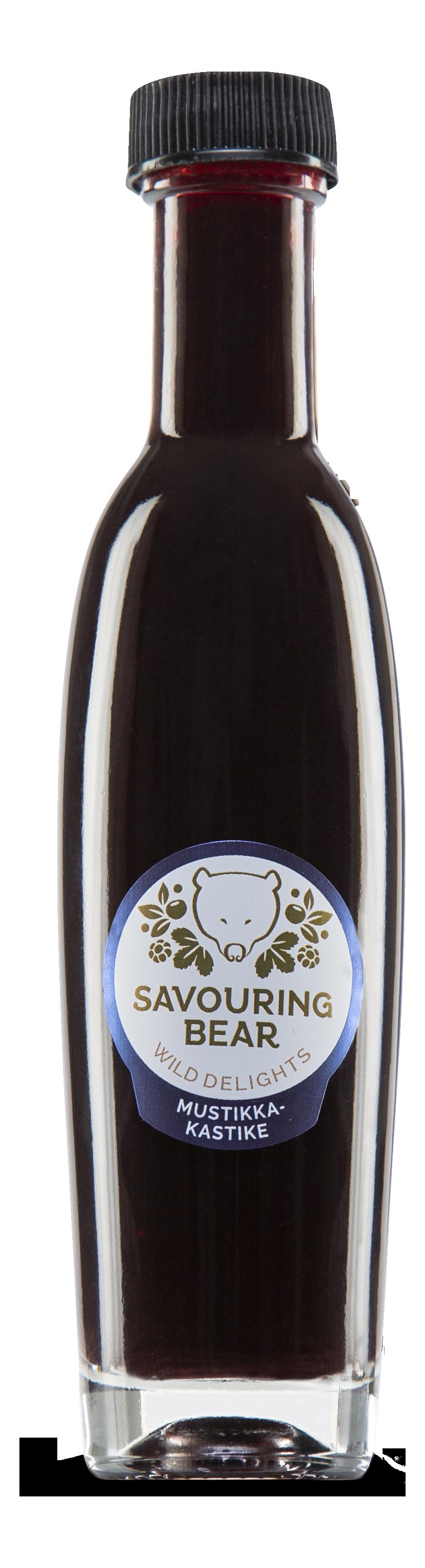 Savouring Bear Bilberry Sauce