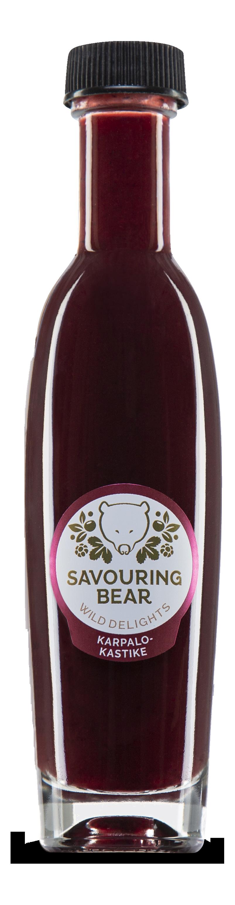 Savouring Bear Cranberry Sauce