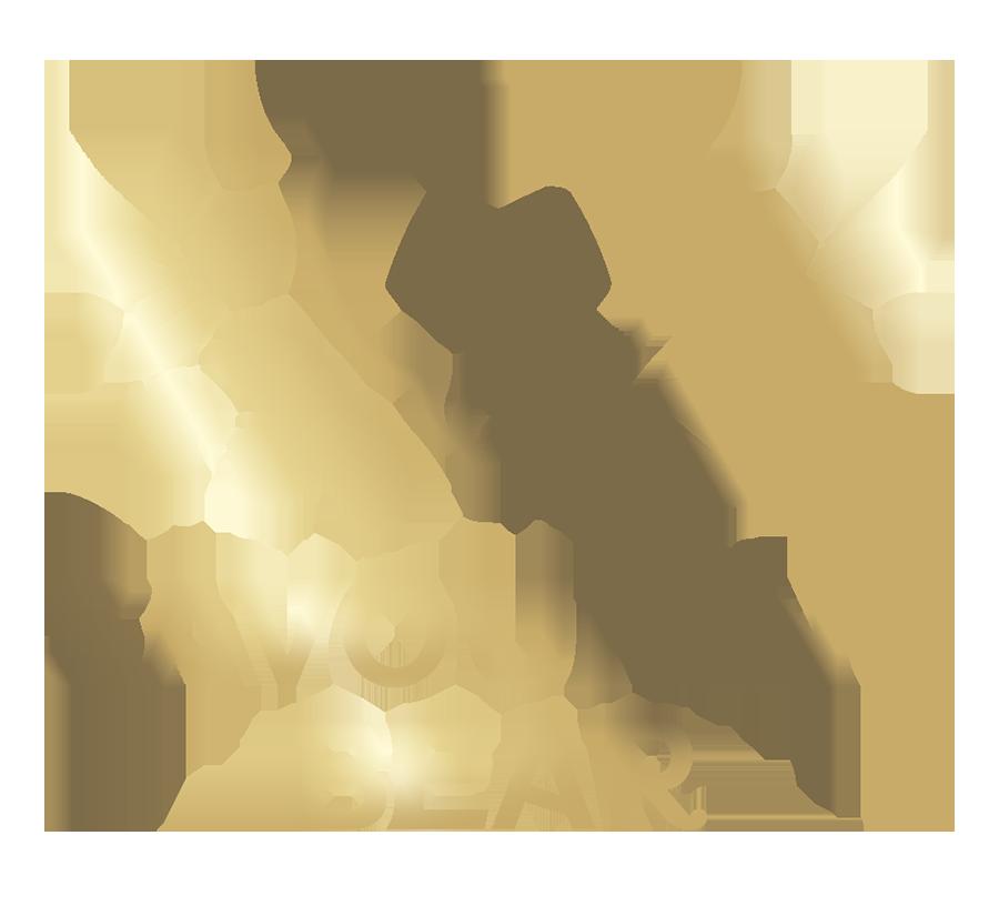 Savouring Bear logo gold